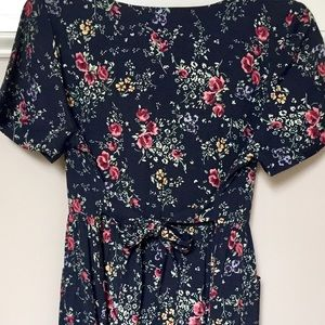 Erica Petites rayon pocket dress size PS
